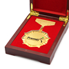 Metal Souvenir Coin in wooden case Commemorative Coin anniversary coin for gift