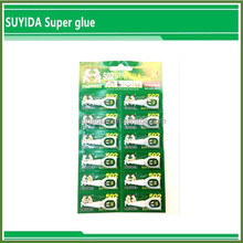OEM super glue 3 seconds small aluminum tube pack cyanoacrylate adhesive