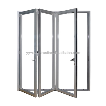 Folding Patio Doors Prices Frosted Glass Accordion Doors With