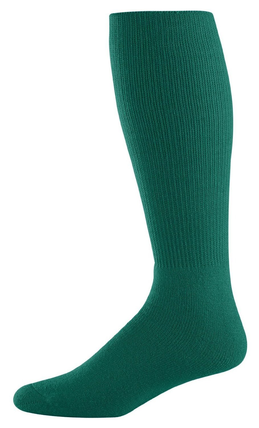 Athletic Socks - Youth Size 7-9, Color: Dark Green, Size: 7 - 9