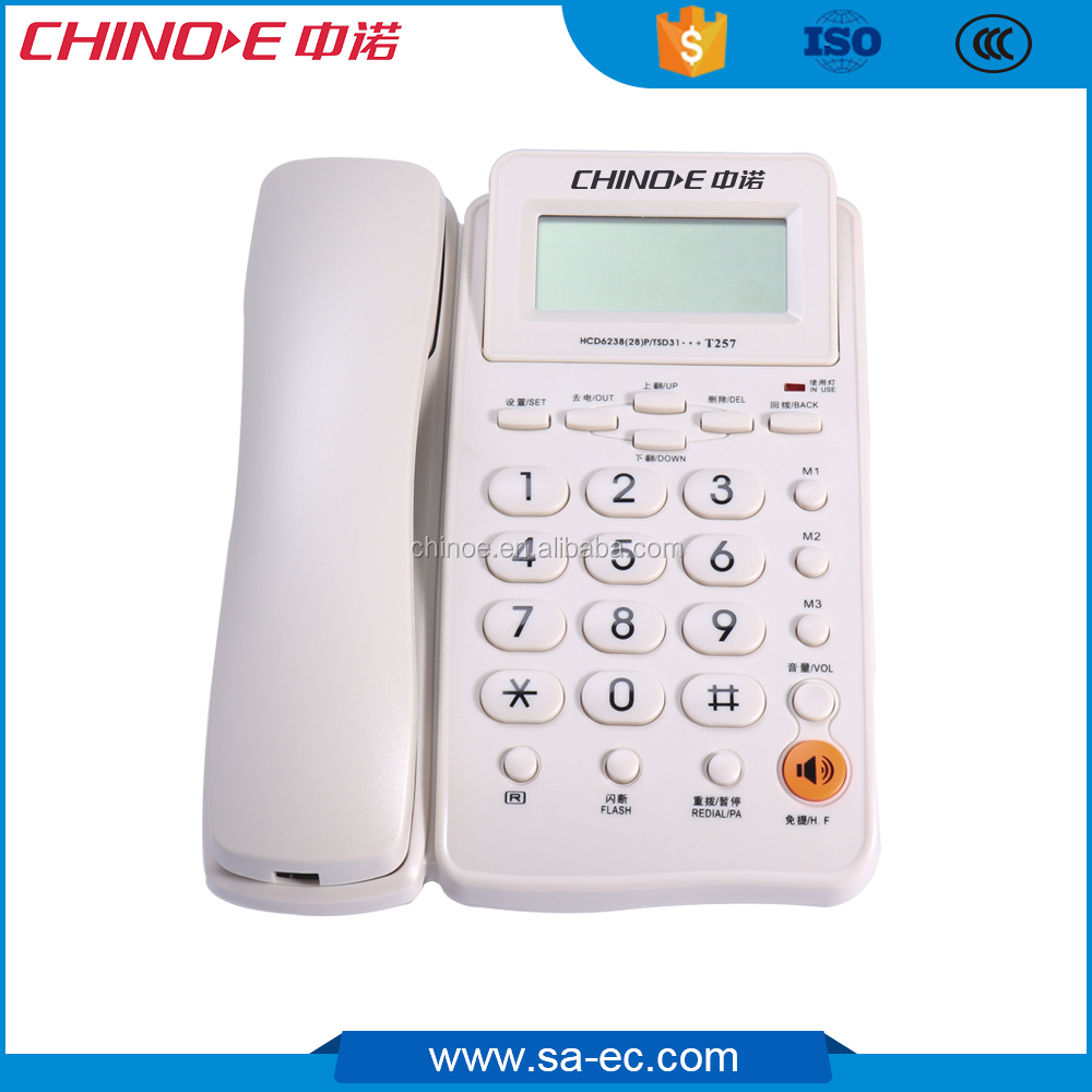 2017 CHINOE Caller ID Telephone from factory in China