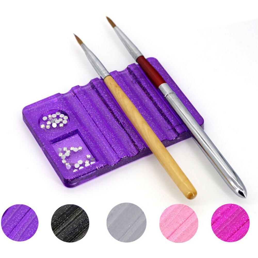 Nails Art & Werkzeuge Schönheit & Gesundheit 2017 Professionelle 7 Stücke Nail Art Design Make-up Pinsel Set Zeichnung Pen Polnischen Malerei Tipps Bilden Nagel Werkzeuge Lila