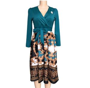Good Quality New Feeling Africa Clothing Office Plus Size Dress for Wholesale Casual Dress