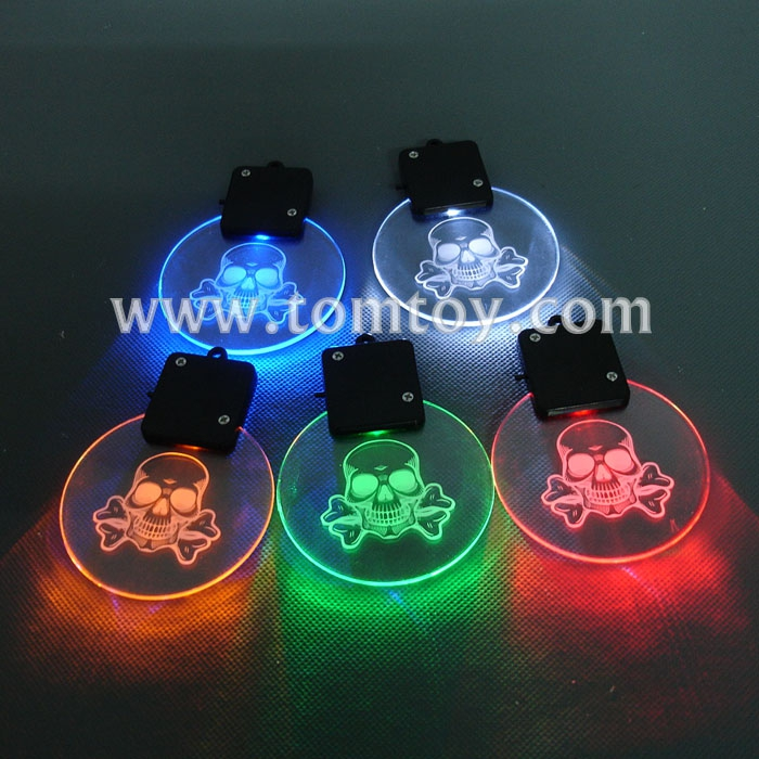 Tomtoy LED Halloween Pendant Necklace
