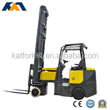China manufacture narrow aisle electric forklift hot sale