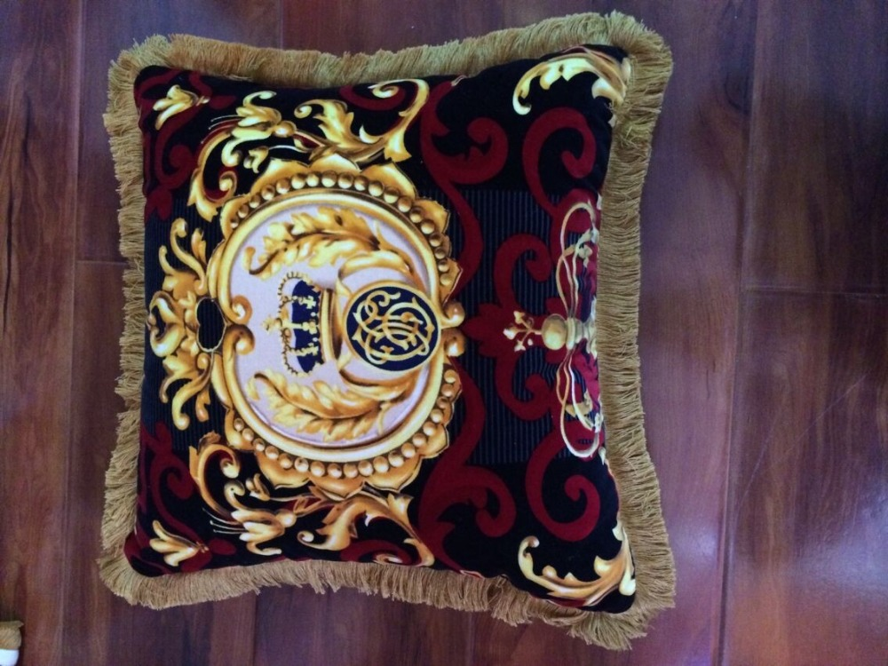 20'/27' Crown Pattern Top quality imperial sofa cushion luxury home decorative soft pillow