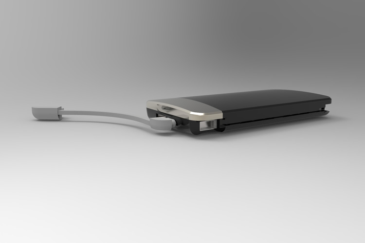Built-in Charging Cable fast Power Bank