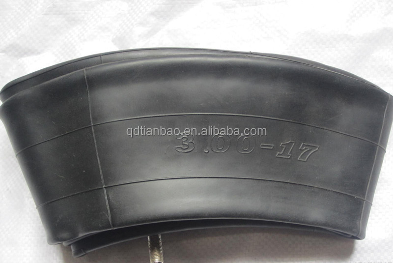 high quality tubes material butyl motorcycle inner tube