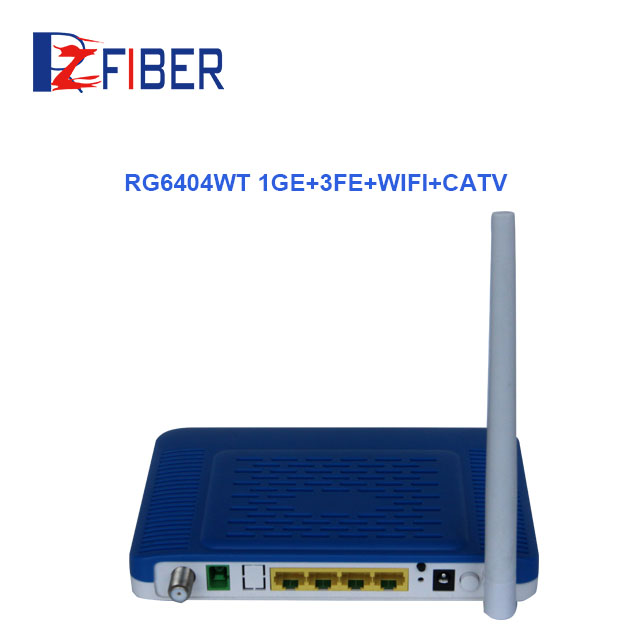 4GE+2FXS GEPON ONU Fiber Optical Support IGMP Proxy and MLD