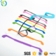 Anti slipping eye wear accessories customized flexible silicone eyeglass chains strap cord retainer