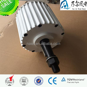 2kw low rpm ac pmg permanent magnet generator alternator