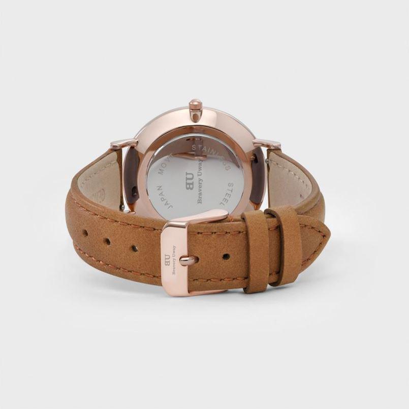 3atm Waterproof Japan Movt Omax Quartz Watch Stainless Steel