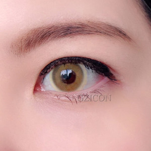 Bella cheap price contact lens new style good quality fancy look 2 tone sweet color contact lens