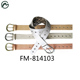 FM brand factory direct sales hot selling high quality customized color women pu belt