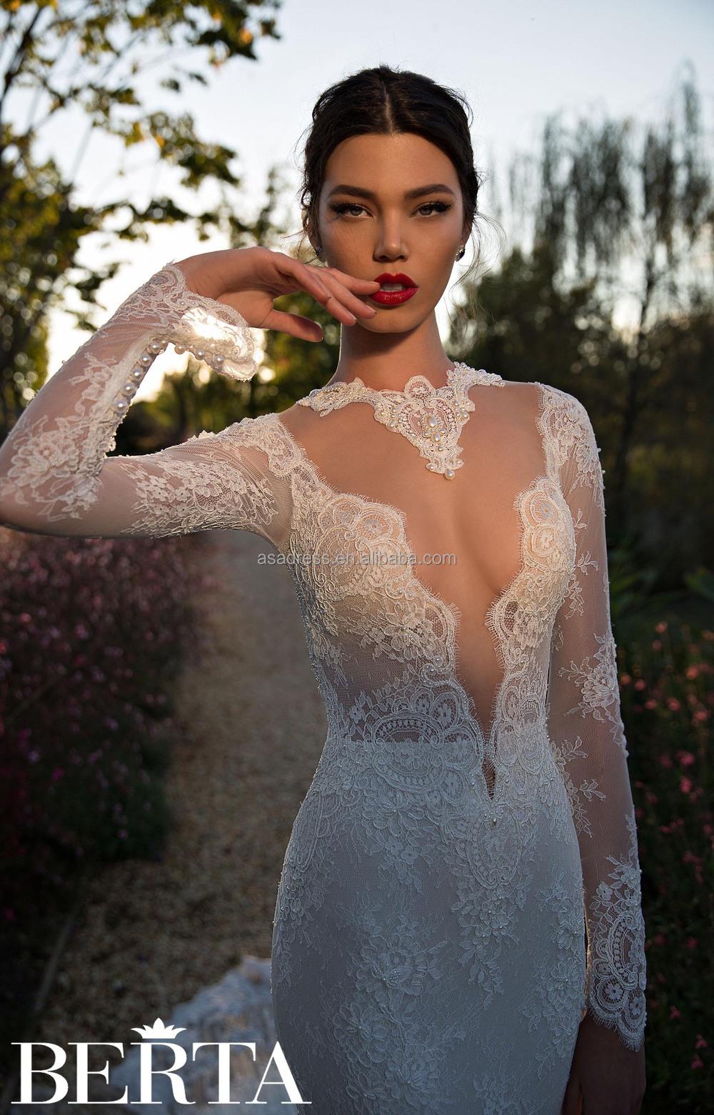 latest modern high quality sexy mermaid wedding dress berta bridal