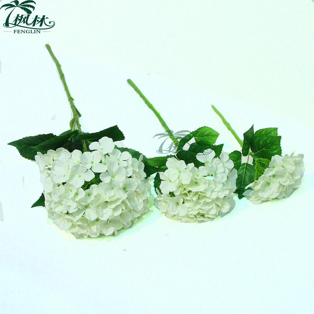 Wedding decorative white hydrangea flower factory wholesale wedding decorative white hydrangea flower factory wholesale artificial hydrangea flower dhlflorist Gallery