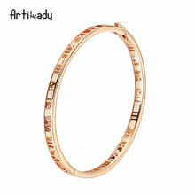 Artilady 2018 Latest Design Sexy Gold Plated Bracelet Clasp Bangles For Girlfriends