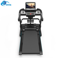 SJ-E400 Manufacturer price home fitness walking running machine electrical treadmill with USB