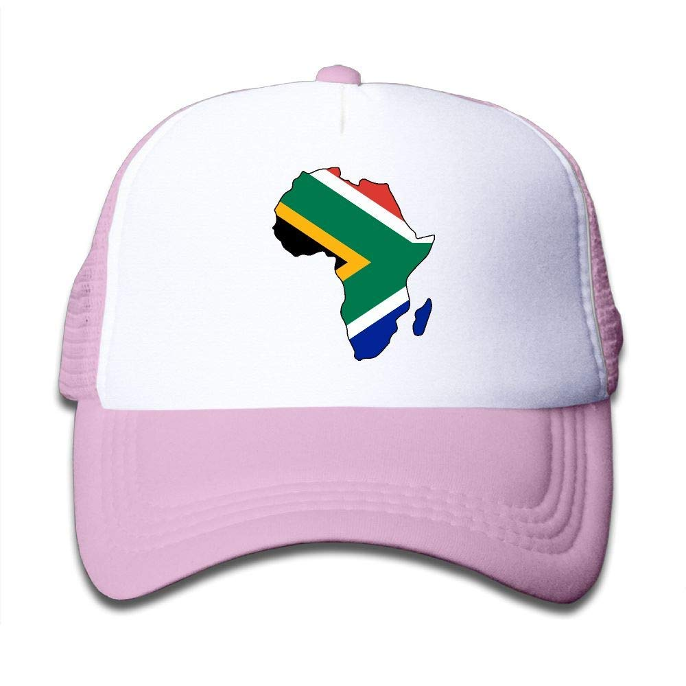 ff52f79c5f7 Get Quotations · South Africa Flag in Africa Map On Children s Trucker Hat