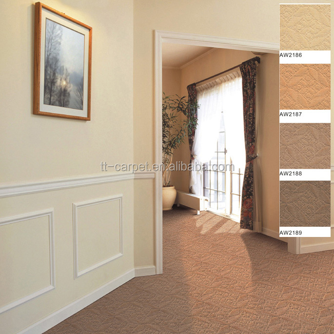 Gold Supplier Customized Size Personalized Roll Tufted Carpet