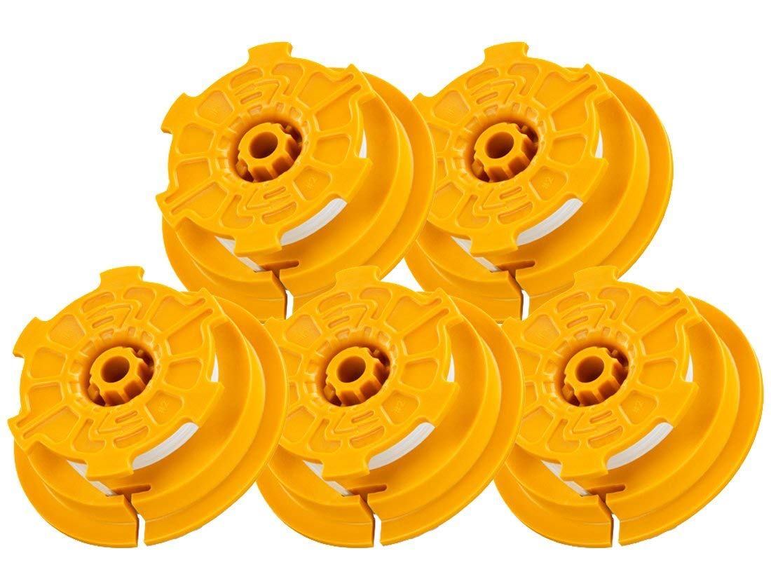 Ryobi RY30524 Homelite UT-21546 Trimmer Replacement (5 Pack) Spool & Spring # AC04130-5pk