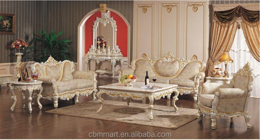 Made in china classical sofa set buy classical sofa set for Sala de estar antigua
