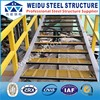 FRP stair with steel pipe stair handrail