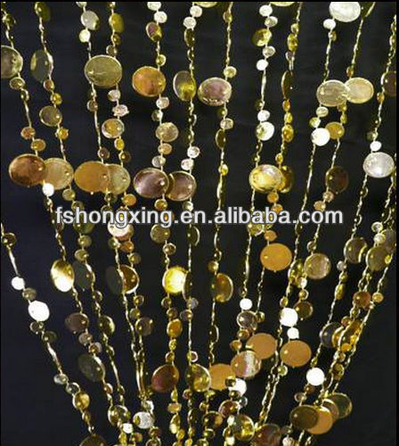 BC09 Wholesale hanging beads curtains for home decoration