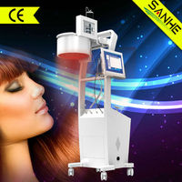 2014 wholesale low level laser hair regrowth machine/synthetic fiber hair extension