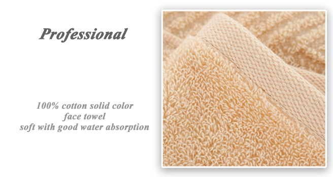 high quality hotel pure color thin cottonfancy bath hand towels