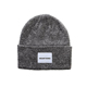 Snowboard Unisex Label Wholesale Custom Plain Cuff Skull Ribbed Knit Beanie Cap With Custom Tags