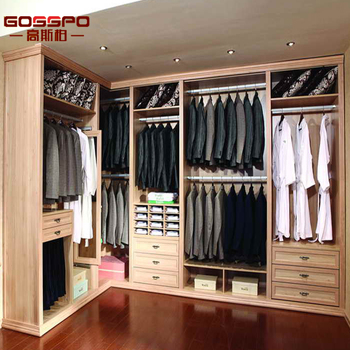 W1 033 Chambre Tissu Armoire Garde Robe Moderne Design En Bois Garde