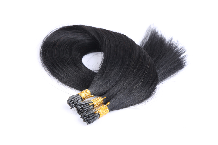 Factory directly 10a grade peruvian hair i-tip extensions