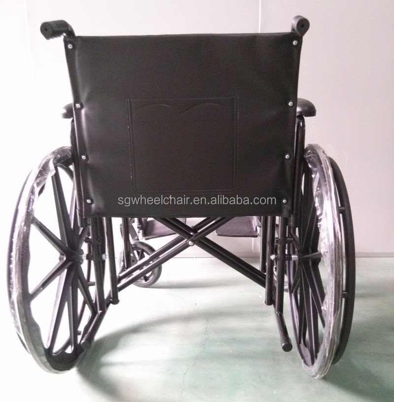 "Bariatric Wheelchair With Mag Wheels With 20"" 22"" 24"" 26' Seat Width"
