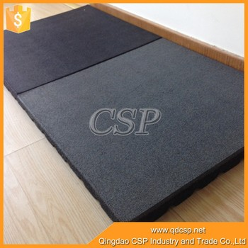 Safety Outdoor Patio Rubber Tilesrubber Tile Flooring For