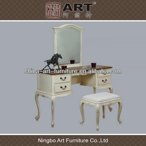 antiguo mobiliario de sala europeo de diseo de madera mesa de tocador