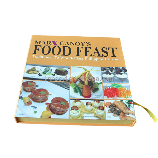 food feast Philippine cuisine hardcover cook book alibaba china shenzhen printing company