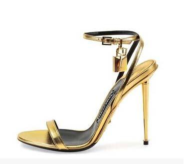 991dbc5f984d9b Sandals Metal High Heels Sandals Women Ankle Strap Ladies Shoes Gold ... Designer  Shoes