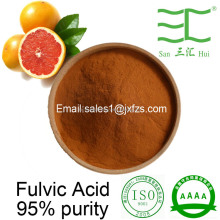high purity sodium fulvate fulvic acid powder organic fertilizer