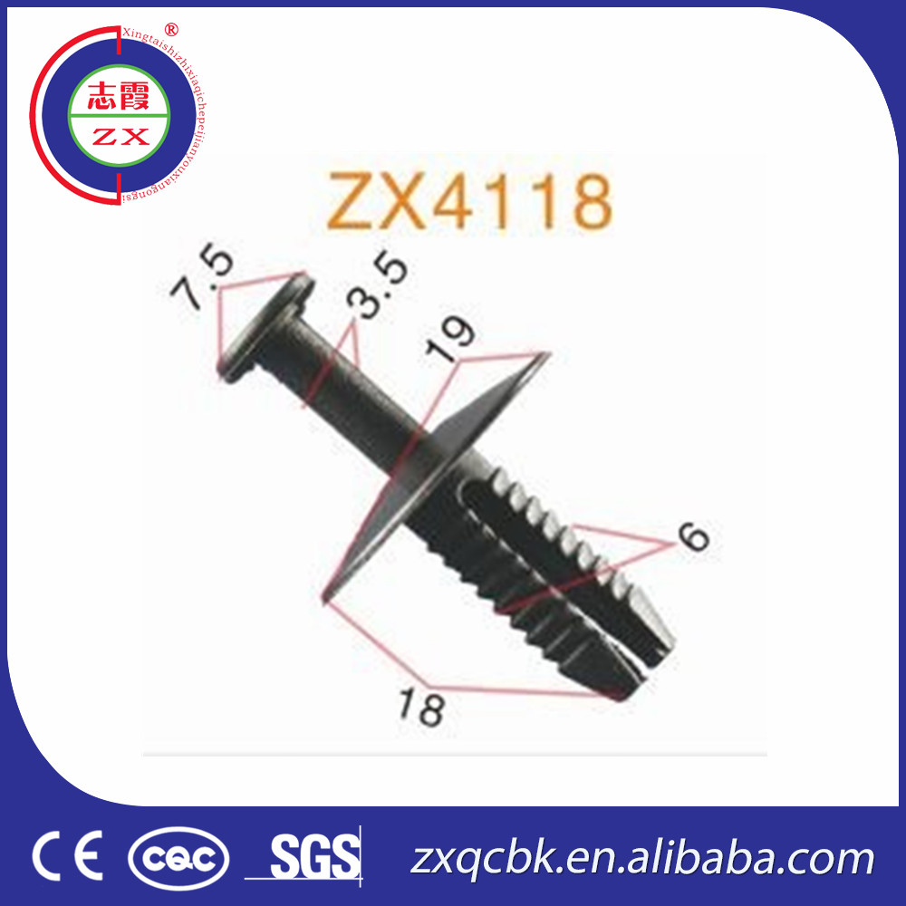 ZHIXIA car door clips/car flag window clips/car air vent clips for wholesale