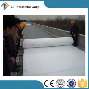 high quality polyester Long fiber non-woven geotextile 600g m2