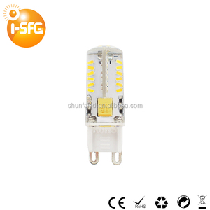 China supplier 12v 2.5w G9 led light bulbs Non dimmable lamps led lights with CE RoHS