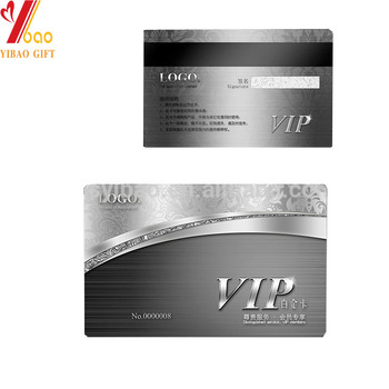 2015 Customized High End Business Card Vip Card Buy Led Business