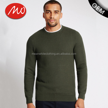 2018 latest design wool winter fashion sweater men with best price