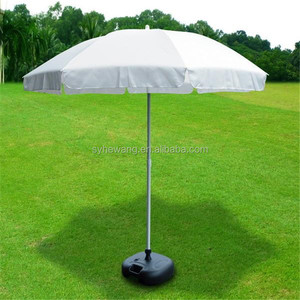 outdoor best selling cheap price white parasol