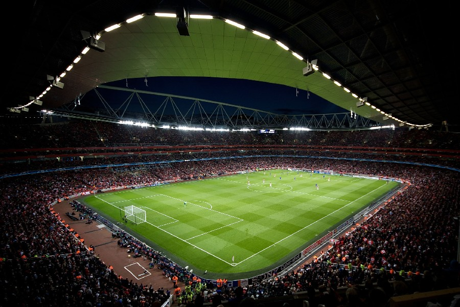 Seamless Vinyl Photography Backdrop Football Stadium Match: Soccer Stadiums Promotion-Shop For Promotional Soccer