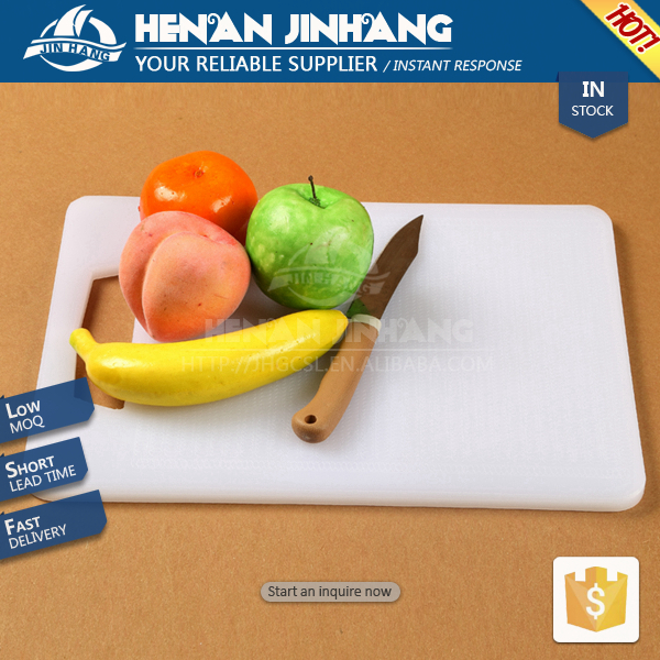 2018 non-slip thick square round butcher cutting board