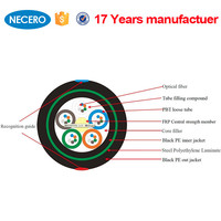 Made in China 48 core single mode fiber optic cable with specifications