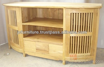 Solid Teak Wood Indoor Furniture Tv Stand Oval Buy Teak Wood Tv Stand Teak Tv Stand Teak Wood Tv Cabinet Product On Alibaba Com