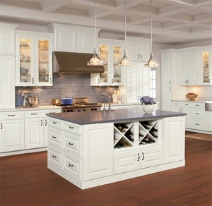 Fashion modern kitchen unit, stainless steel kitchen, aluminium kitchen cabinet